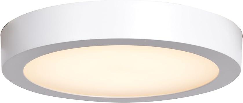 Ulko Exterior Led Outdoor Flush Mount 9 D White Acrylic Lens Diffuser