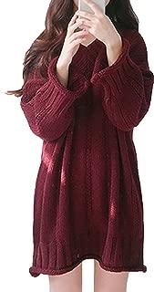 [ミニマリ] ニットワンピース レディース ニットワンピ ミニ vネックセーター 可愛い服 ワンピース 韓国 セクシー チュニック