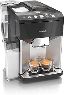 Siemens EQ.500 TQ507D03 - Cafetera automática (1500 W, acero inoxidable)