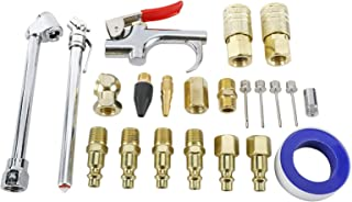 BTSHUB 22Pc Air Hose Fittings Air Compressor Accessories Kit with 1/4 inches NPT Quick Connect Fittings and Plug And Atora...