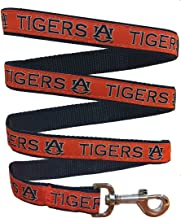 Pets First Collegiate Pet Accessories, Dog Leash, Auburn Tigers, Small