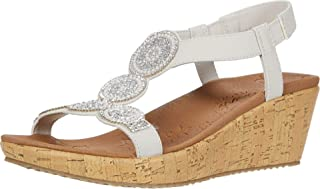 Skechers BEVERLEE - DATE GLAM womens Wedge Sandal