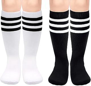 Kids Soccer Socks Boys Toddler Knee High Socks Girls Boys...