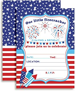 fourth of july invitations