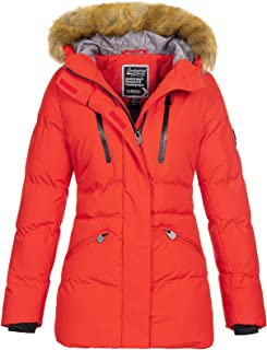 Geographical Norway Crown Women's Winter Parka Fur Hood