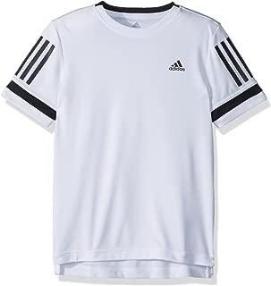 Boy's adidas Youth Youth Tennis Boys Club 3 Stripes Tee