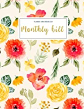 Monthly Bill Planner and Organizer: monthly bill tracker sheets   3 Year Calendar 2020-2022 Weekly Expense Tracker Bill Or...