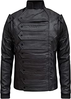 Famous Soldier Black Bucky Jacket with Detachable Sleeves