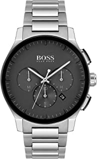 Hugo Boss Black Men's Black Dial Stainless Steel Watch - 1513762