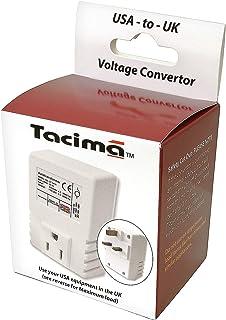 Tacima SC5474W/BP Step Down Voltage Convertor,230/240 Volts Down to 110/120 Volts – Maximum Load 50VA (Approximately 50Watts)