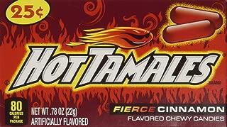 Hot Tamales-24ct-Individual Mini Boxes Hot Cinnamon Flavor-(Net Wt. 18.72oz)