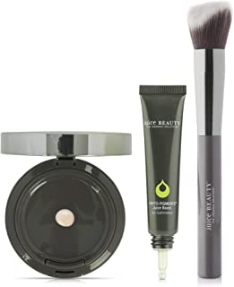 Juice Beauty Phyto-Pigments Trio - Juice Boost (Illuminating), Sculpting Brush, Youth Cream Compact Foundation