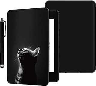 YYS Case with Hand Strap and Touchscreen Pen for All-New Kindle 10th Generation 2019 Released - Durable Leather Cover with...
