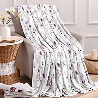 maisi Anemone Flower Digital Printing Blanket Shabby Chic Spring Pattern Blossoming Bridal Bouquets Romantic Summer Quilt Comforter 62