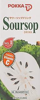 Pokka Soursop Juice Drink, 250ml (Pack of 24)