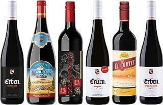 Liebliches Rotwein Probierpaket 5 x 0.75 l, 1 x 1 l