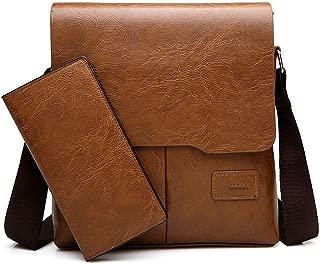 Man MessengBag 2 Set Men Pu LeathShouldBusiness Crossbody Casual Bag Famous ZH1505/8068