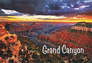 City to City Marketing Grand Canyon Sunset, Arizona, United States National Park Magnet 2 x 3 Fridge Photo Magnet