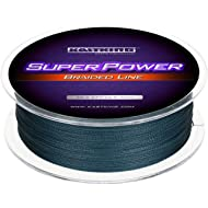 KastKing SuperPower Braided Fishing Line - Abrasion Resistant Braided Lines – Incredible...