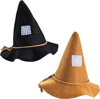 black scarecrow hat