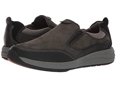 Clarks Un Coast Walk (Black Leather) Men