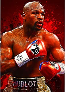 ClifeDesign Floyd Mayweather Jr Poster Boxing Poster Print Unframed (8