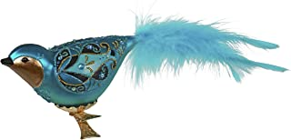 Best Hallmark Keepsake Christmas Ornament 2020, Majestic Plumed Bird, Blown Glass Review
