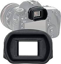 JJC KIWIFOTOS Ergonomic Long Camera Eye Cup for Canon EOS 1D X Mark II/ 1D X/ 1Ds III/1D IV/ 1D III/ 5D IV/ 5D III/ 5DS/ 5DS R/ 7D II/ 7D, Eye Piece viewfinder as Canon Eg Eyecup, Soft Silicone