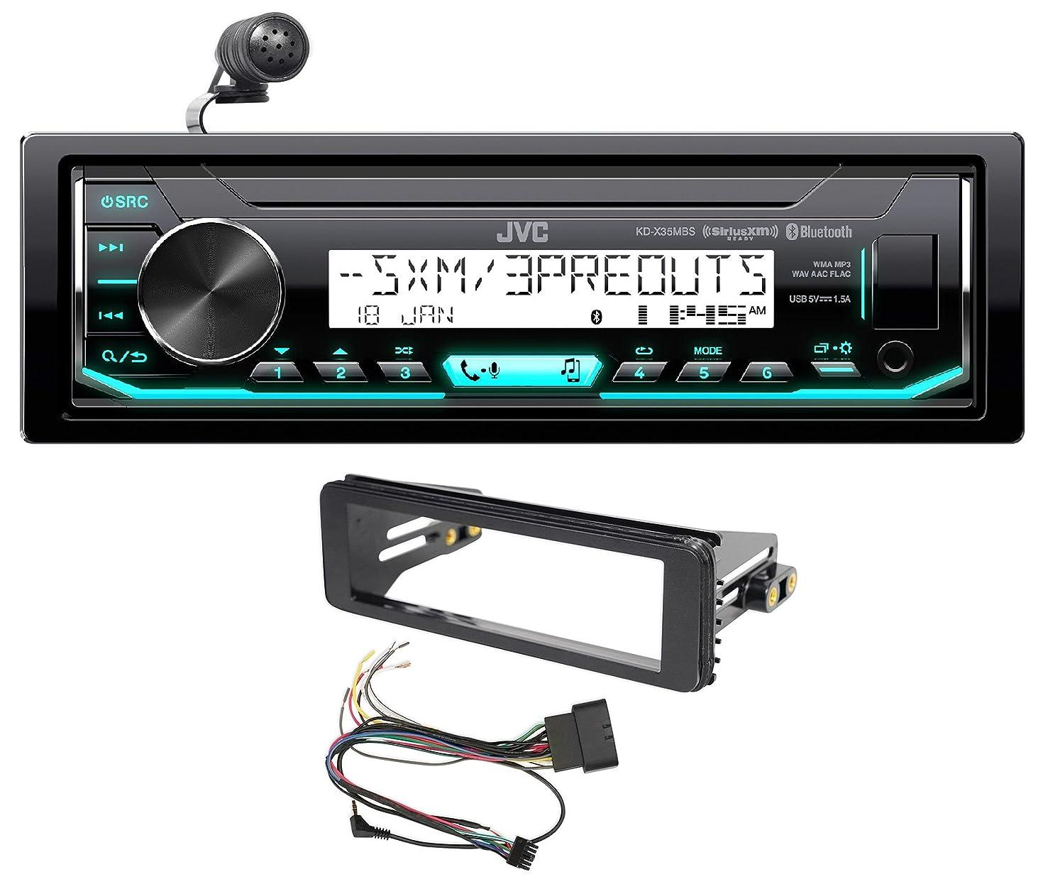 1998-2013 Harley Davidson FLHT FLHTC JVC Bluetooth Receiver Stereo Upgrade Kit