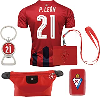 #21 P. Leon (6 in 1 Combo) Los Armeros Home Match Adult Soccer Jersey 2016-17