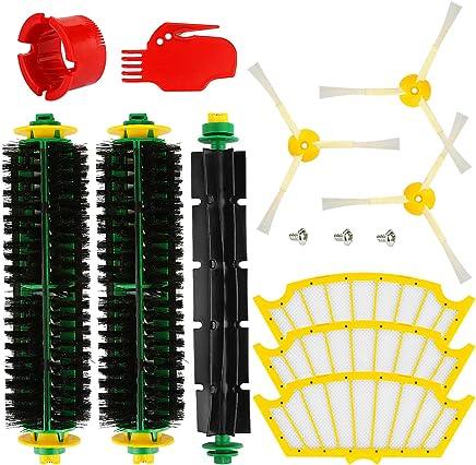 Producto genuino de Green Label a excepci/ón de 585 y 595 Kit de recambios para iRobot Roomba de la serie 500 con Cabezal de limpieza Verde o Rojo