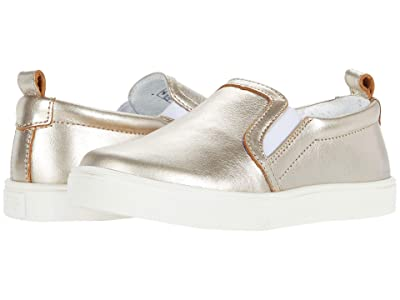 Freshly Picked Slip-On Sneaker (Toddler/Little Kid) (Platinum) Girl