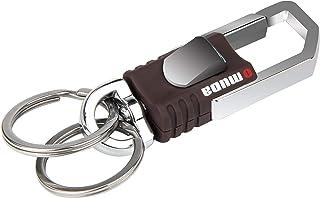 EVAPLUS Key Chain with 2 Extra Key Rings Heavy Duty Car Keychain for Men and Women Black