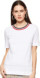 Tommy Hilfiger Tanja Relaxed C-nk Tee SS Maglia Sportiva Donna
