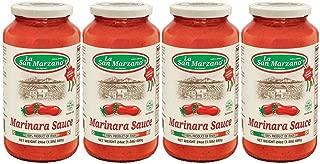 La San Marzano Marinara Sauce 24 oz. (Pack of 4) - 100% Product of Italy (4)