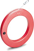 Gardner Bender EFT-50B Steel Fish Tape 50 ft. x ⅛ in. Flat Tape, Eyelet Tip, Light Weight, Smooth Release and Wind, Electr...