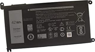 Fully WDX0R Replacement Battery Compatible with Dell Inspiron 15 5568 7560 5567/13 7368 Series/Inspiron 13 5378 14-7460 / Dell Inspiron 17-5770 Inspiron 13 5379 Inspiron 15 7570 WDXOR 11.4V 42WH