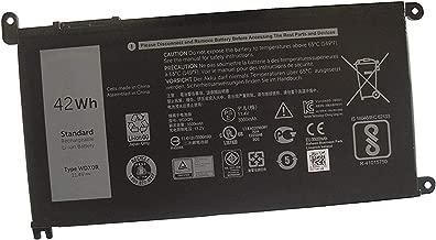 Dentsing 42Wh WDX0R Laptop Battery For DELL Inspiron 15 5568 7560 5567 / 13 7368 Series / Inspiron 13 5378 14-7460 / Dell Inspiron 17-5770 Inspiron 13 5379 Inspiron 15 7570 WDXOR