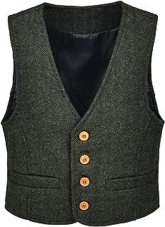 Best boys green waistcoat Reviews
