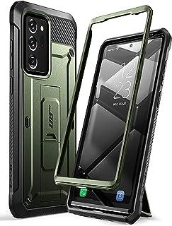 SUPCASE Outdoor Hülle für Samsung Galaxy Note 20Ultra (6.9') 5G Handyhülle Bumper Case Rugged Schutzhülle [Unicorn Beetle Pro] OHNE Displayschutz,Grün