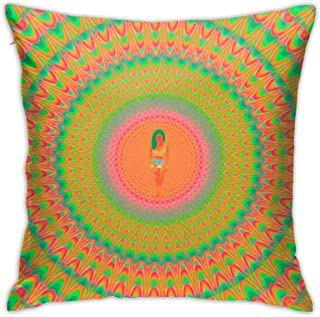 HEYUNZI Pillow Case Fans Design Fashion Soft Custom Covers Double Sided Printed 18 x 18 in