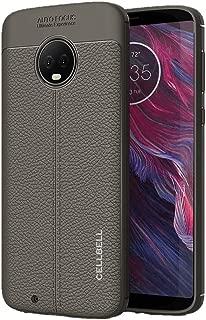CELLBELL AutoFocus case Cover for Motorola Moto G6 [Grey]