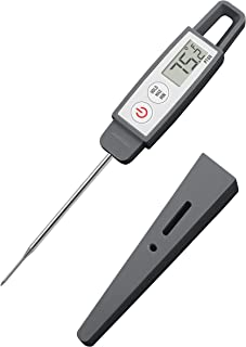 Lavatools PT09C Commercial Grade Digital Instant Read Meat Thermometer for Kitchen, Food Cooking, Grill, BBQ, Smoker, Candy, Home Brewing, and Oil Deep Frying