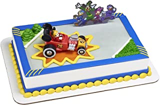 """Decopac Mickey and the Roadster Racers DecoSet Cake Decoration Topper Red and Black, 2.25"""" x 4.15"""""""