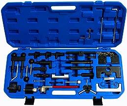 Supercrazy Engine Belt Adjust Locking Timing Tool Kit Compatible with Audi VW VAG Petrol Diesel Set SF0055