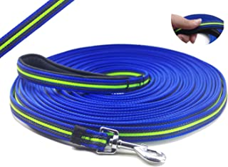 YOOGAO Pet Dog Training Leash Long Dog Lead with Special Non-Slip Design and Padded Handle, 10-50 ft, for Any Szie of Dogs