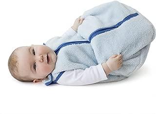 baby deedee Sleep Nest Teddy Baby Sleeping Bag, Blue, Large (18-36 Months)