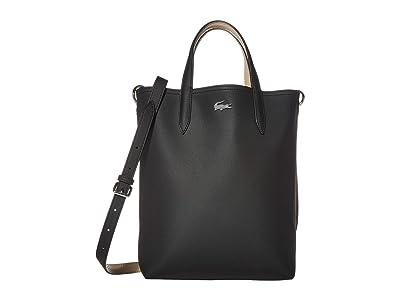 Lacoste Anna Vertical Shopping Bag (Tuareg/Grey Chine/Calla) Handbags
