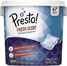 Amazon Brand – Presto! Premium Dishwasher Detergent Pacs