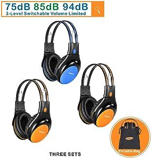 2001 to present 2 Channel IR BMW 5-Series  Folding Wireless Headphones
